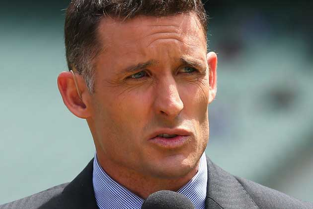 """Christ!"" says Mike Hussey"