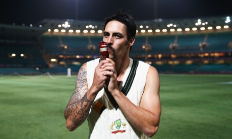 'Tastes like chicken' - Mitchell Johnson